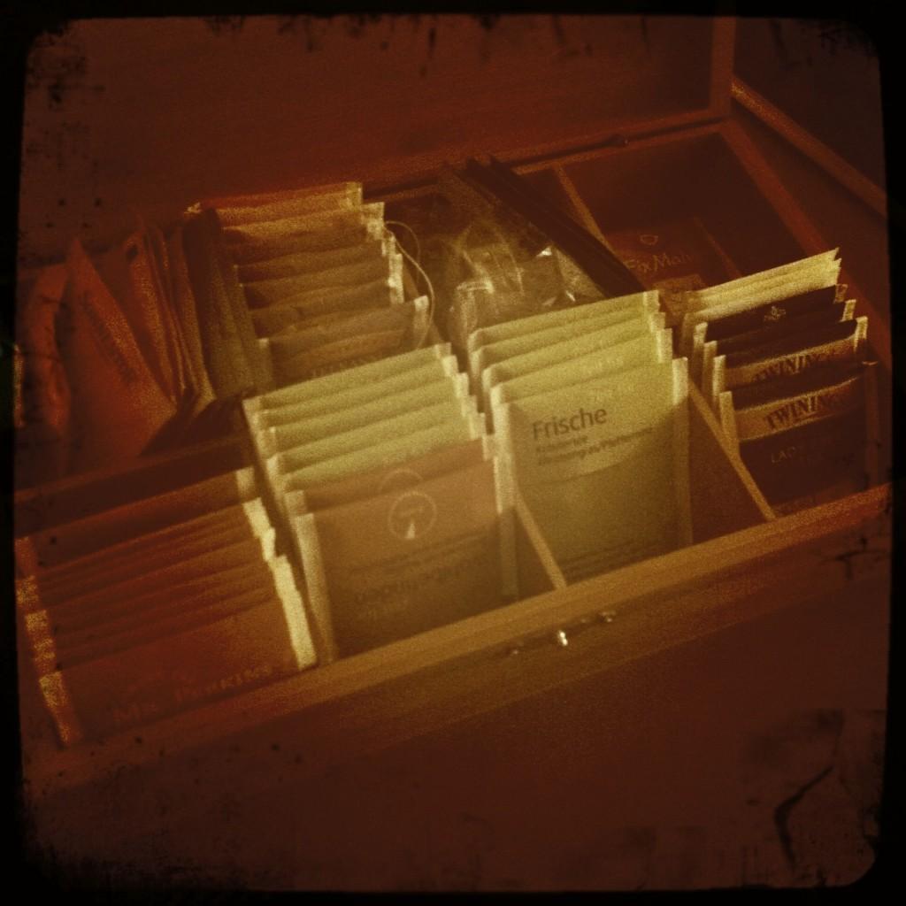 Erste-Hilfe Kasten Teebox