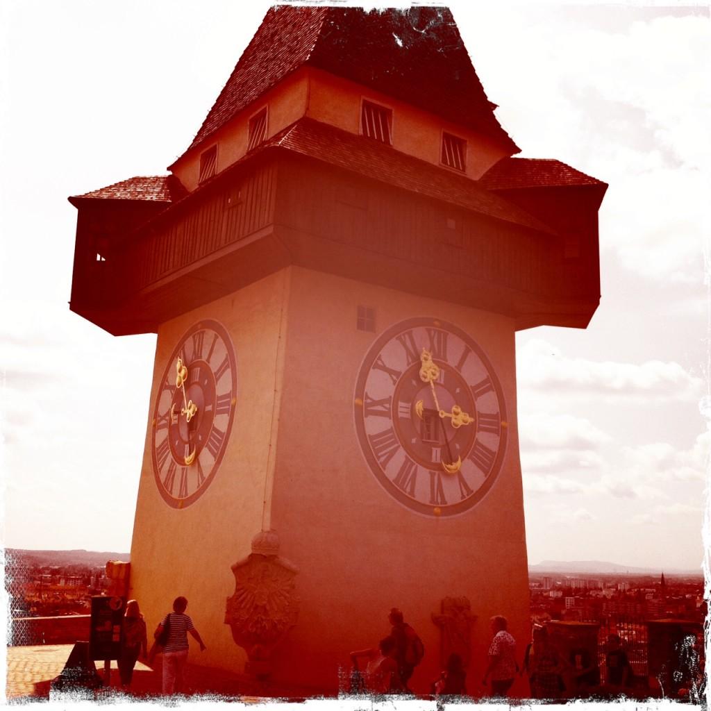 Der Uhrturm in Graz