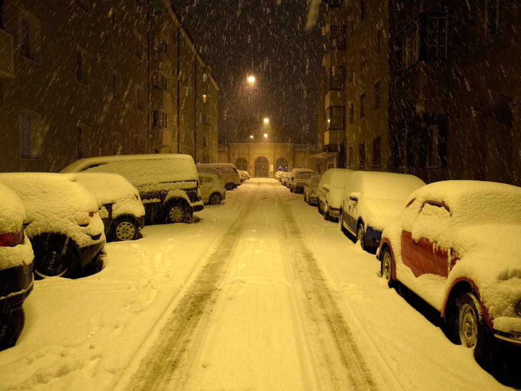 Weihnachten 2011 im Schnee