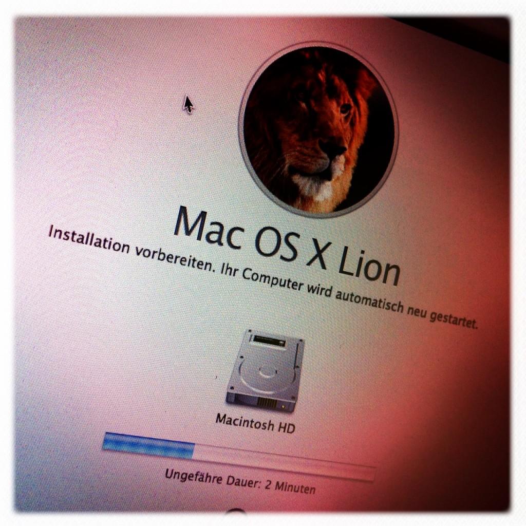 Mac OSX 10.7 - Lion