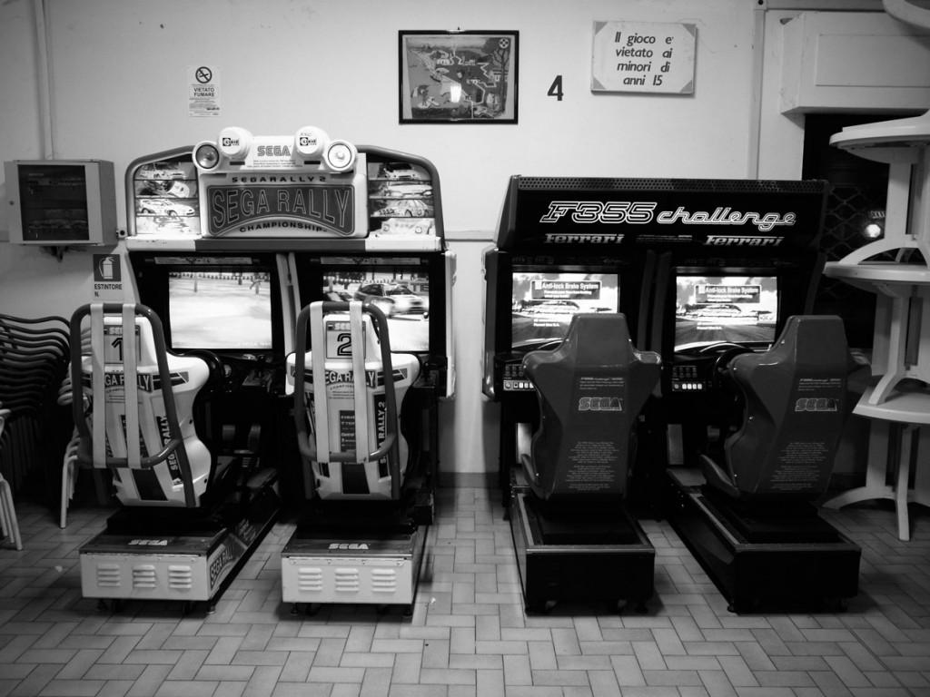 90er Automaten in Mazzanta, Vada