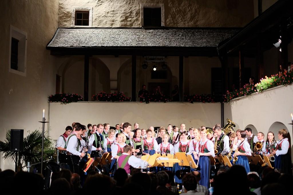 Jubiläumskonzert auf Schloss Bruck