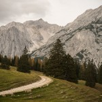 Blick von der Walderalm Richtung Karwendel