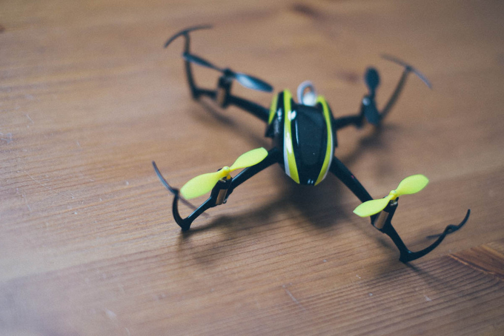 Endlich Wochenende: Ein kleiner Rundflug mit dem Quadro ;-)