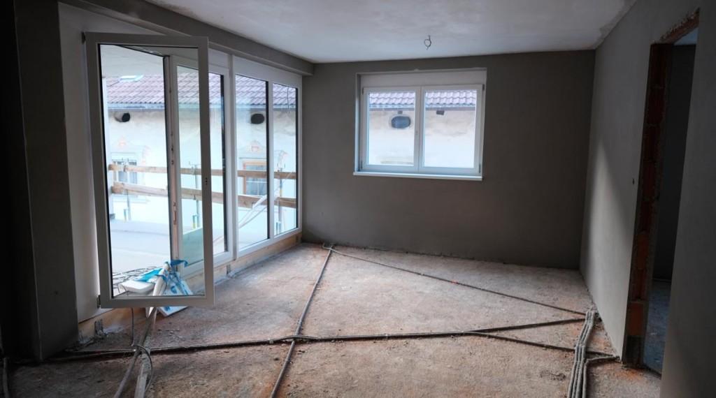 Das künftige Wohnzimmer