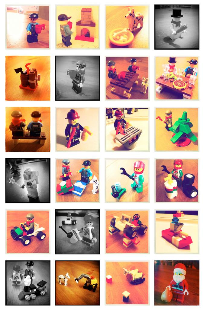 Lego Adventkalender 2013