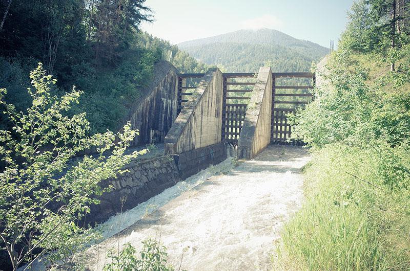 Wildwasserverbauung