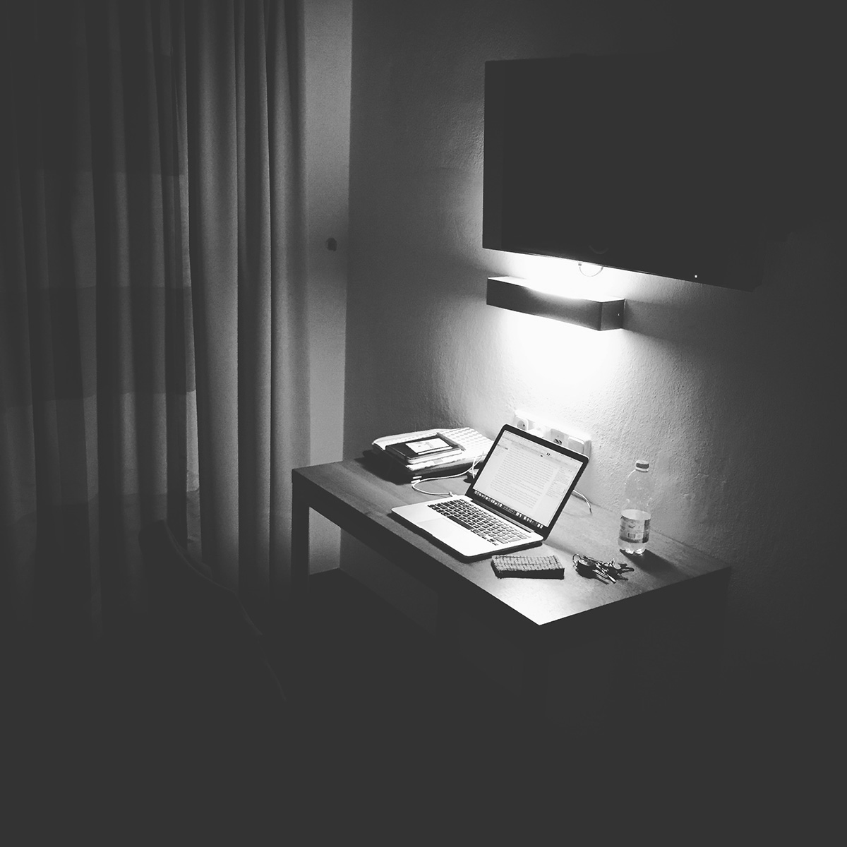 Motiviert beim NaNoWriMo im Hotel in Salzburg